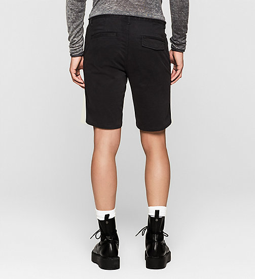 CKJEANS Fitted Chino Shorts - CK BLACK - CK JEANS CHAOS FUSION - detail image 1