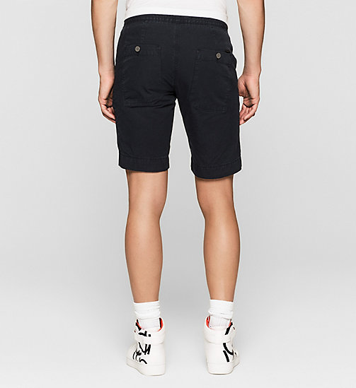 Regular Fit Sporty Shorts - NIGHT SKY - CK JEANS SHORTS - main image 1