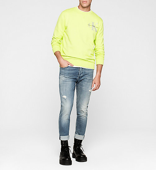 Sweatshirt met logo - SHARP GREEN - CK JEANS  - detail image 1