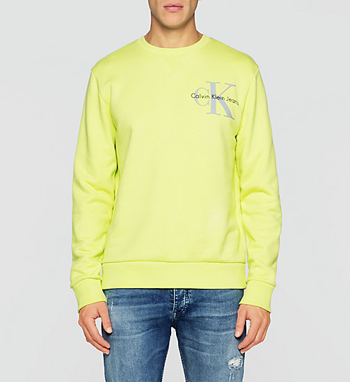 Sweatshirt met logo - SHARP GREEN - CK JEANS  - main image