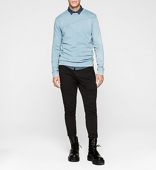 Panelled Sweatshirt - DUSTY BLUE - CK JEANS UNTERWÄSCHE - main image 1