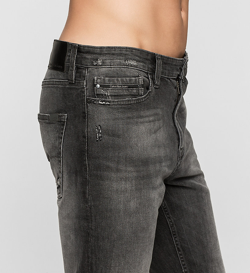 CKJEANS Skinny Tapered Jeans - RUMBLE BLACK - CK JEANS CLOTHES - detail image 2
