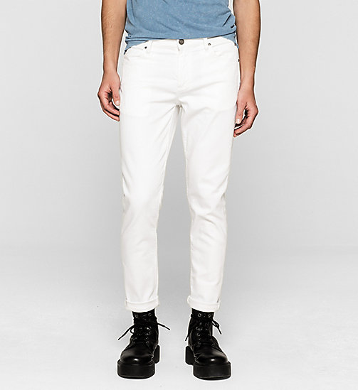 CKJEANS Sculpted Slim Ankle Jeans - INFINITE WHITE COMFORT - CK JEANS CLOTHES - main image