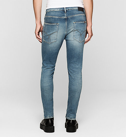 CKJEANS Skinny Tapered Jeans - TWISTER BLUE - CK JEANS DENIM REFRESH - detail image 1