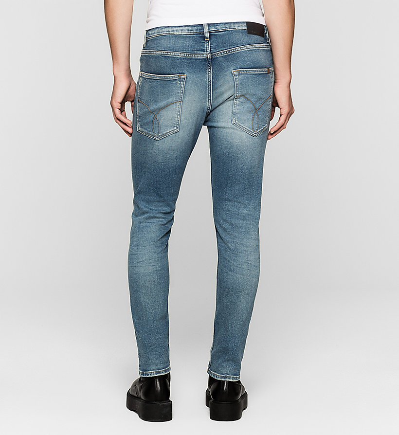 CKJEANS Skinny Tapered Jeans - TWISTER BLUE - CK JEANS CLOTHES - detail image 1
