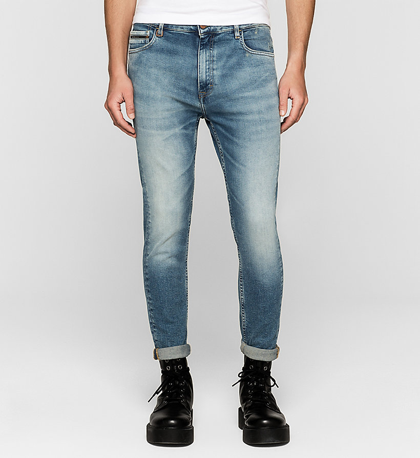 CKJEANS Skinny Tapered Jeans - TWISTER BLUE - CK JEANS CLOTHES - main image