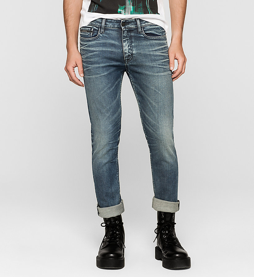 CKJEANS Slim Straight Jeans - BLUE MONDAY - CK JEANS JEANS - main image