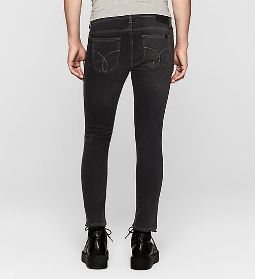 Skinny Ankle Jeans - IRON BLACK - CK JEANS JEANS - detail image 1