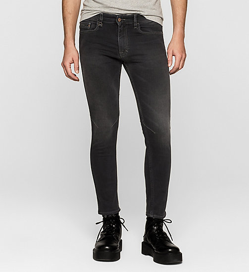 Skinny Ankle Jeans - IRON BLACK - CK JEANS JEANS - main image