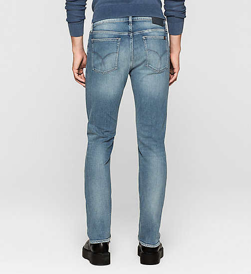 CALVIN KLEIN JEANS Straight Jeans - TRUE LIGHT BLUE - CK JEANS CLOTHES - detail image 1