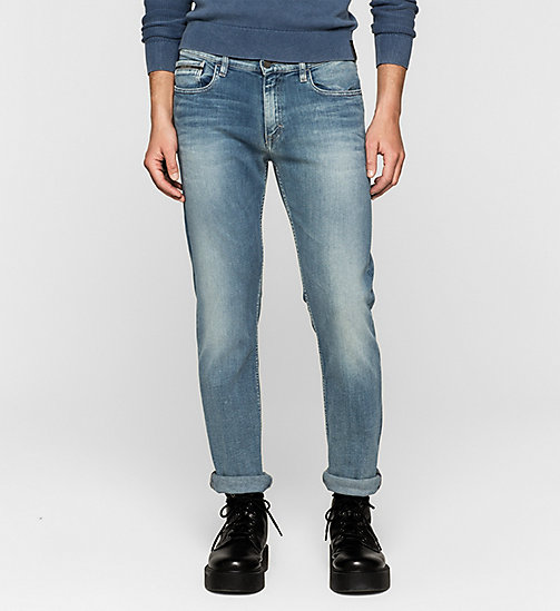 CALVIN KLEIN JEANS Straight Jeans - TRUE LIGHT BLUE - CK JEANS CLOTHES - main image