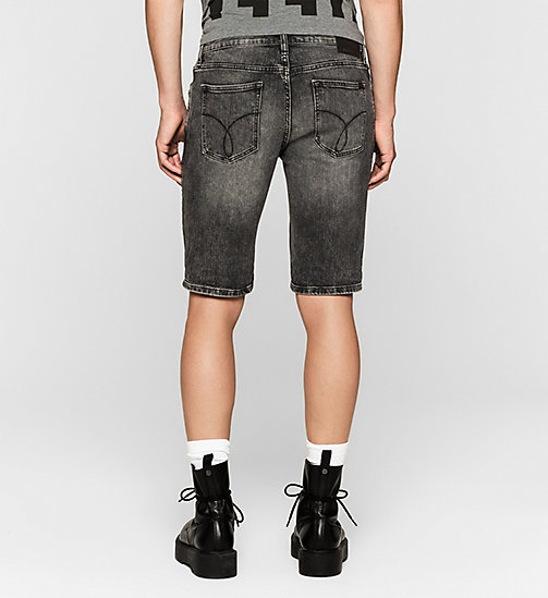 Slim Denim Shorts - BLACK PEARL - CK JEANS  - detail image 1