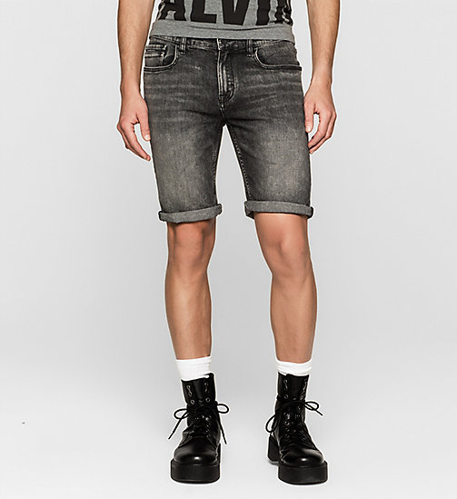 Slim Denim Shorts - BLACK PEARL - CK JEANS  - main image