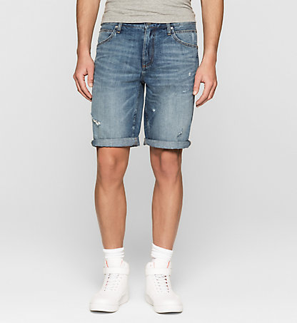 CALVIN KLEIN JEANS Sculpted Denim-Shorts J30J304753916
