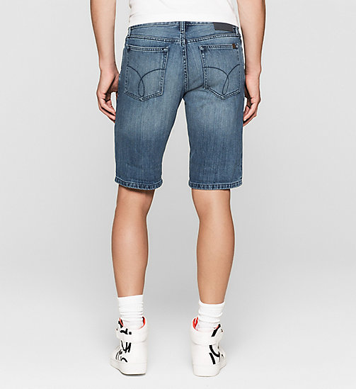 Slim Denim Shorts - BREAKER BLUE - CK JEANS  - detail image 1