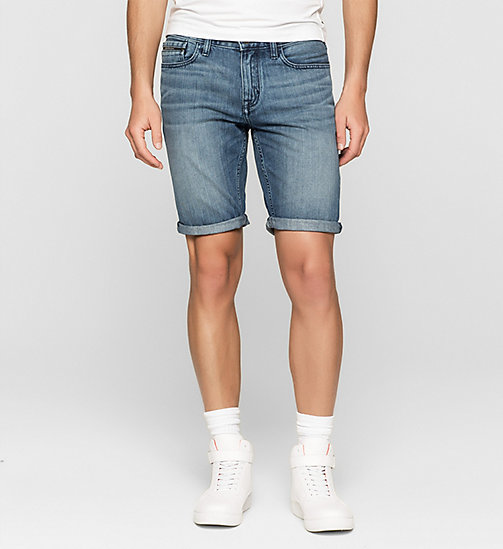 Short slim en denim - BREAKER BLUE - CK JEANS SHORTS - image principale