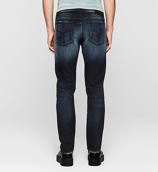CALVIN KLEIN JEANS Straight Jeans - THUNDERBLUE - CK JEANS JEANS - detail image 1