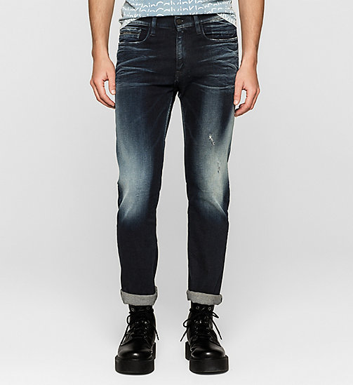 CALVIN KLEIN JEANS Straight Jeans - THUNDERBLUE - CK JEANS JEANS - main image