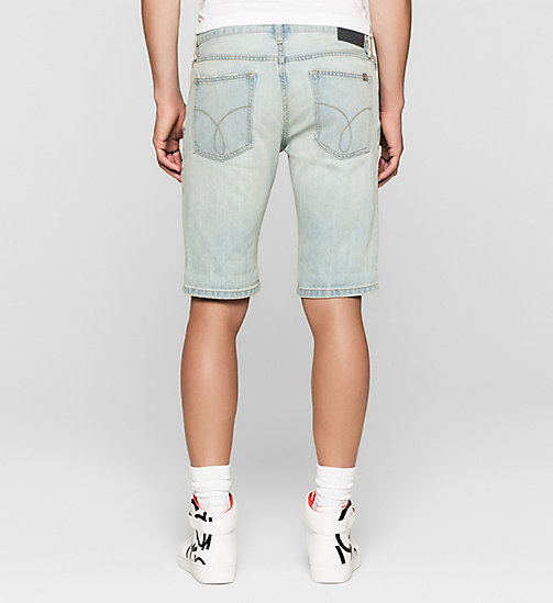 Slim Denim Shorts - SHORE BLUE - CK JEANS  - detail image 1