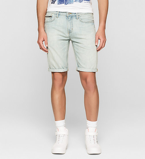 Slim Denim Shorts - SHORE BLUE - CK JEANS  - main image