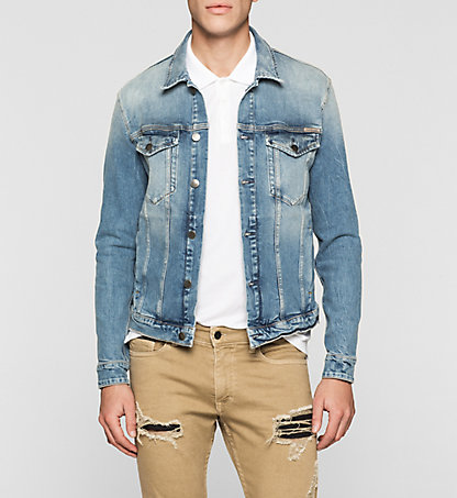 CALVIN KLEIN JEANS Denim Trucker Jacket J30J304774912