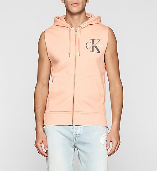 Hooded Vest - PEACH BEIGE - CK JEANS UNDERWEAR - main image