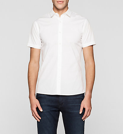 CALVIN KLEIN JEANS Fitted Shirt J30J304809112