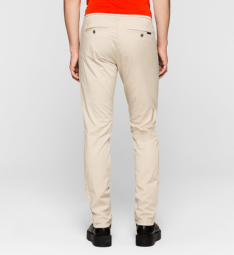 CKJEANS Regular Chino Trousers - PLAZA TAUPE - CK JEANS TROUSERS - detail image 1