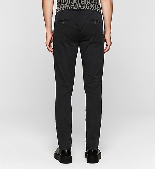 Regular Chino Trousers - CK BLACK - CK JEANS  - detail image 1