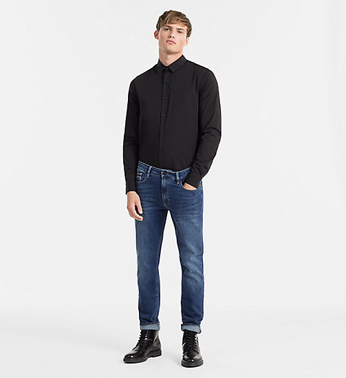 CALVIN KLEIN JEANS Slim Shirt - CK BLACK - CALVIN KLEIN JEANS GIFTS FOR HIM - detail image 1
