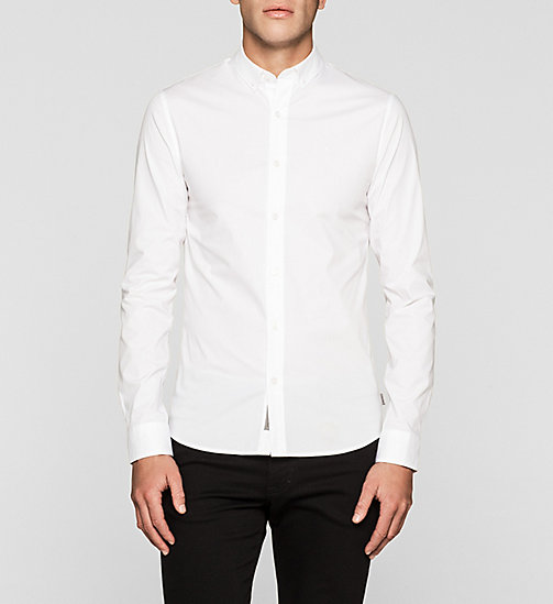 Extra Slim Shirt - BRIGHT WHITE - CK JEANS SHIRTS - main image