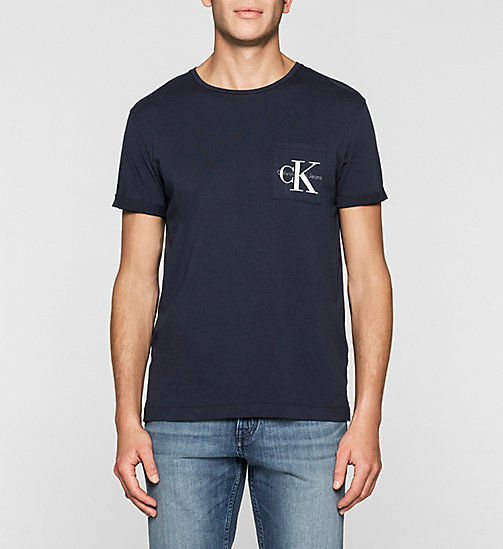 Regular Logo T-shirt - NIGHT SKY - CALVIN KLEIN JEANS  - main image
