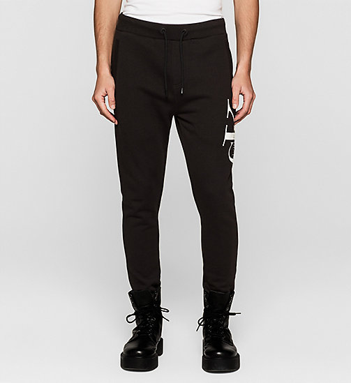 Logo Sweatpants - CK BLACK - CK JEANS TROUSERS - main image
