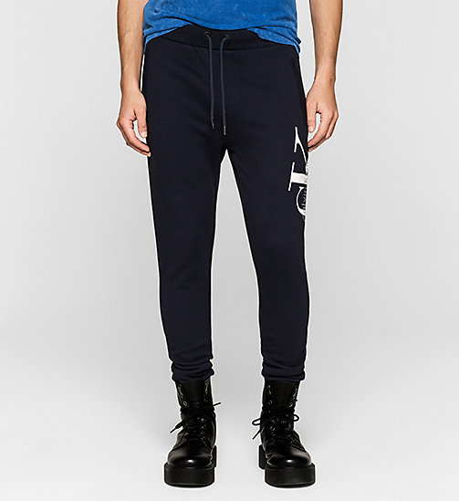 Joggingbroek met logo - NIGHT SKY - CK JEANS BROEKEN - main image