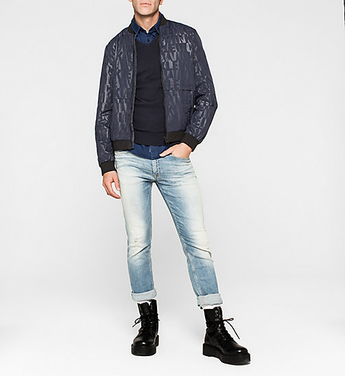 Slim Denim Shirt - DARK INDIGO - CK JEANS  - detail image 1