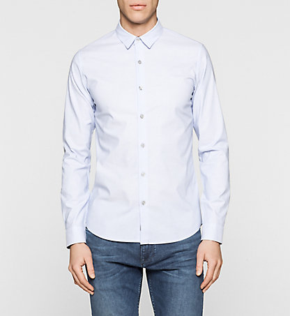 CALVIN KLEIN JEANS Fitted Dobby Shirt J30J304860403