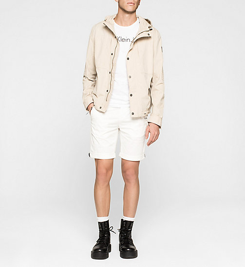 Hooded Jacket - PLAZA TAUPE - CK JEANS OUTERWEAR - detail image 1