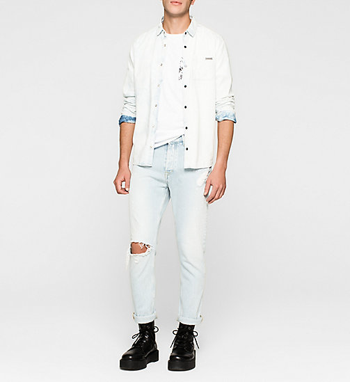 Regular T-shirt - BRIGHT WHITE - CK JEANS CLOTHES - detail image 1