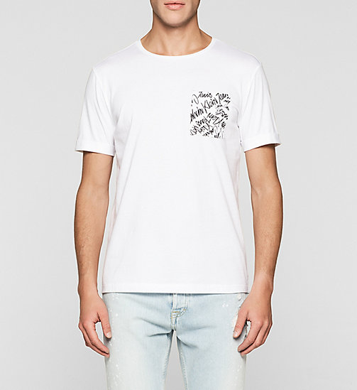 Camiseta regular - BRIGHT WHITE - CK JEANS  - imagen principal