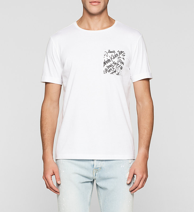 CKJEANS Regular T-shirt - BRIGHT WHITE - CK JEANS CLOTHES - main image