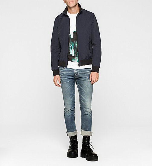 Nylon Bomber Jacket - NIGHT SKY - CK JEANS OUTERWEAR - detail image 1