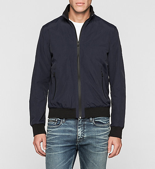 CKJEANS Nylon Bomber Jacket - NIGHT SKY - CK JEANS Up to 50% - main image