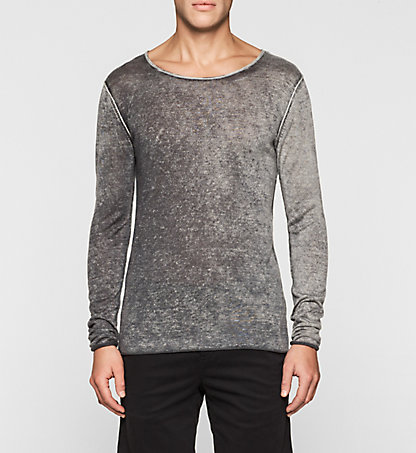CALVIN KLEIN JEANS Lyocell Cashmere Sweater J30J304902099