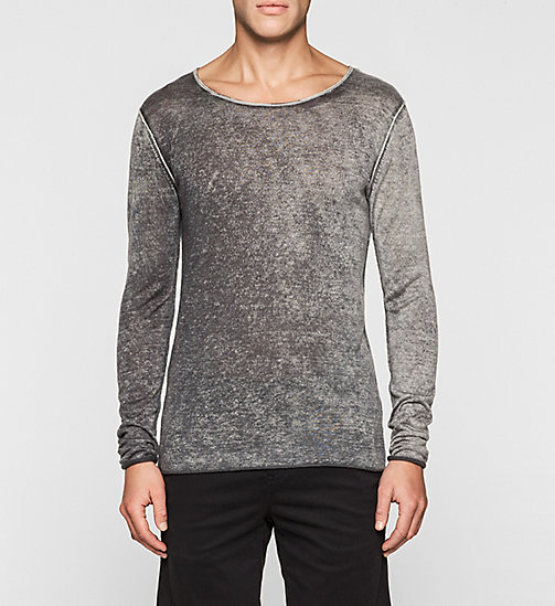 Lyocell Cashmere Sweater - CK BLACK - CK JEANS JUMPERS - main image