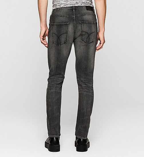 CALVIN KLEIN JEANS Regular Tapered Jeans - BLACK TORNADO - CK JEANS CLOTHES - detail image 1