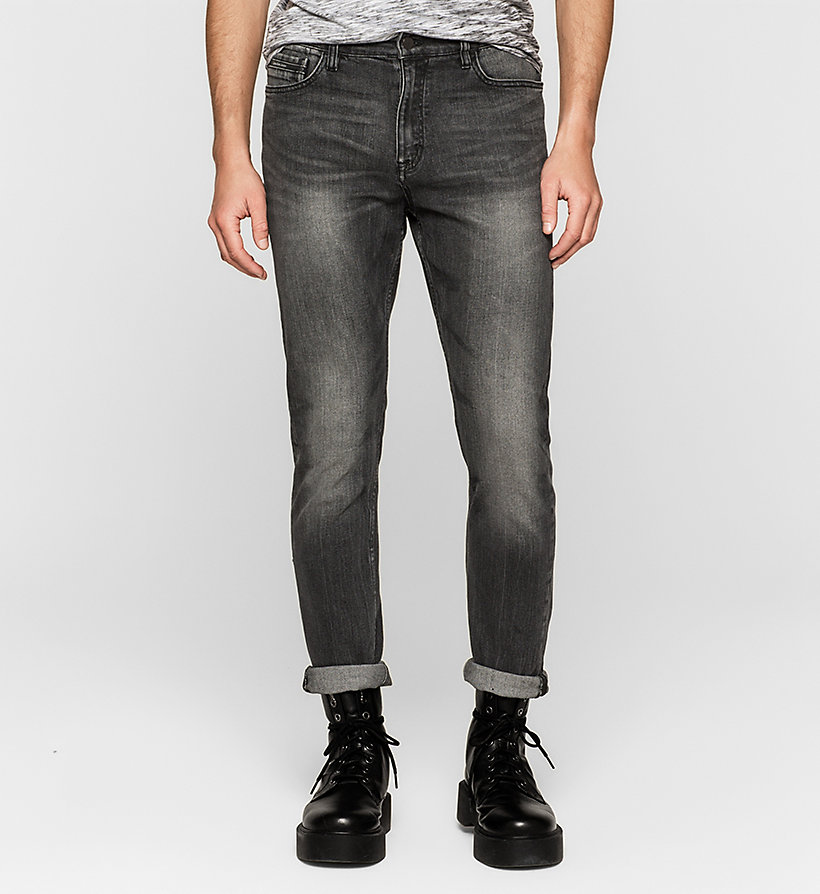 CKJEANS Regular Tapered Jeans - BLACK TORNADO - CK JEANS CLOTHES - main image
