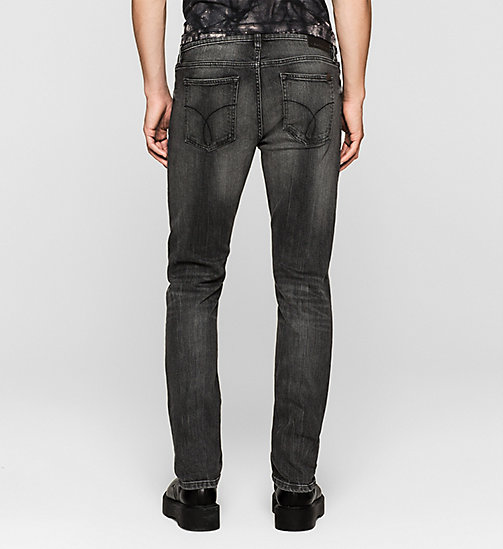 CKJEANS Slim Straight Jeans - BLACK TORNADO - CK JEANS Up to 50% - detail image 1