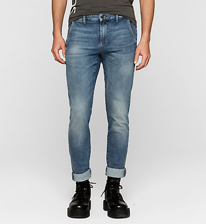 CALVIN KLEIN JEANS Regular Denim-Chinohose J30J304917912