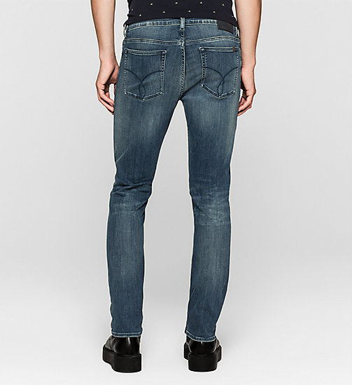 Slim Straight Jeans - DEEP LAGOON - CK JEANS JEANS - detail image 1