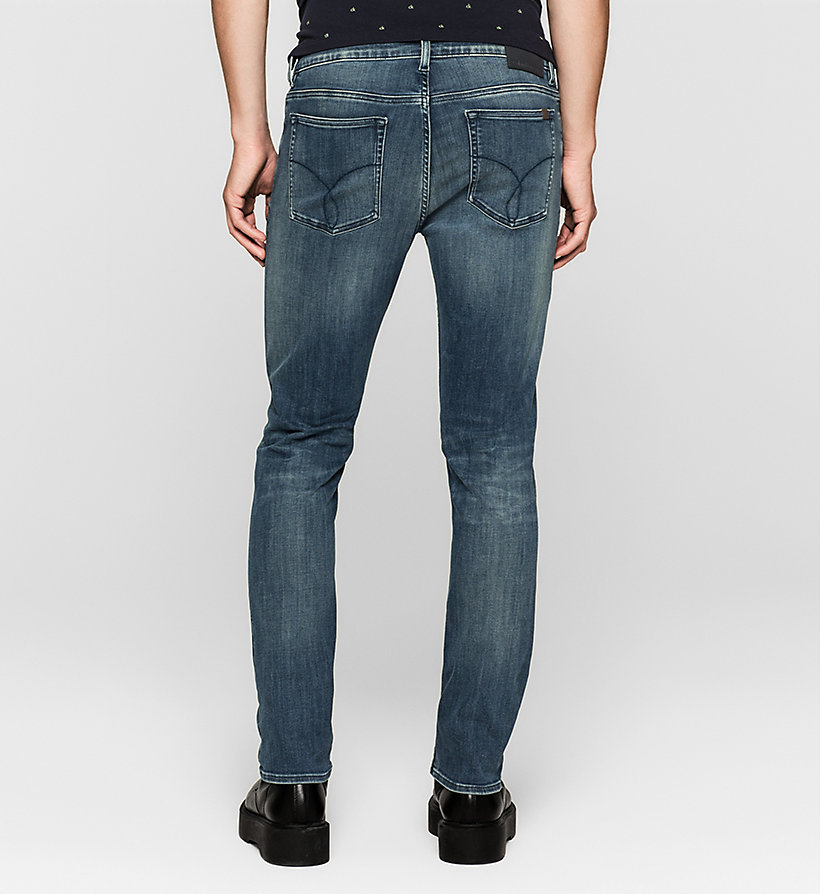 CKJEANS Slim Straight Jeans - DEEP LAGOON - CK JEANS JEANS - detail image 1